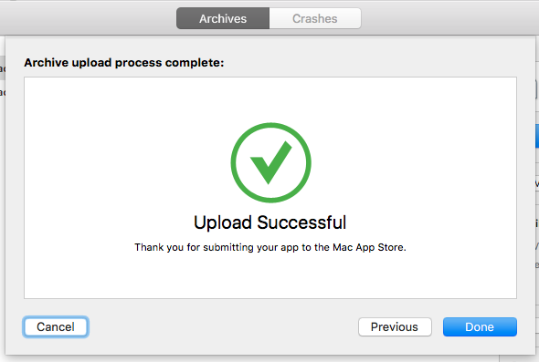 Upload Successful